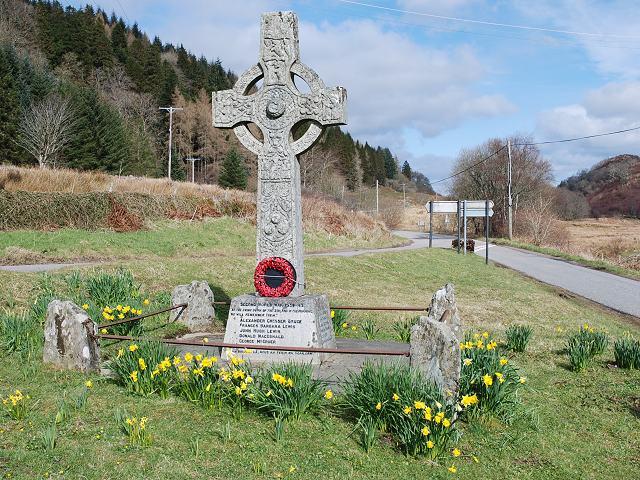 War memorial at Barnluasgan