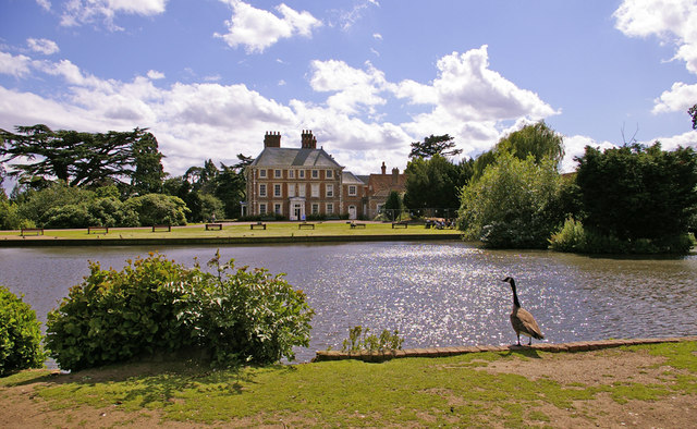 Forty Hall with Lake, Enfield
