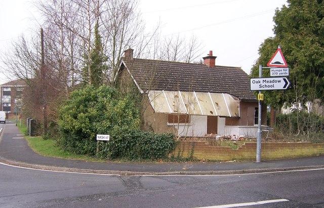 Derelict House. Nashe Way-Fareham