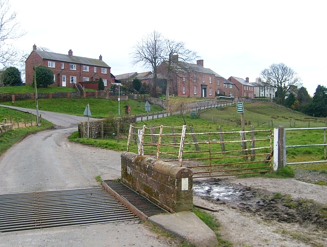 Cattle grid on road to Boustead Hill