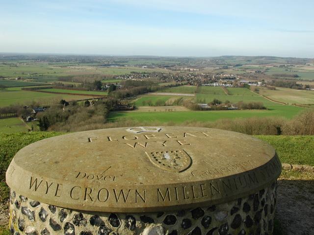 Wye Crown Millennium Stone
