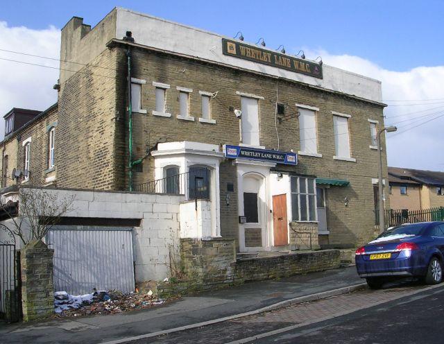Whetley Lane WMC - Whitefield Place