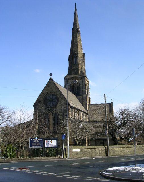 St Paul's Church - Church Street
