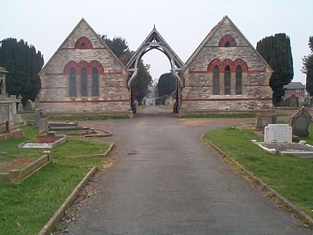Chapels in Ryde Cemetery