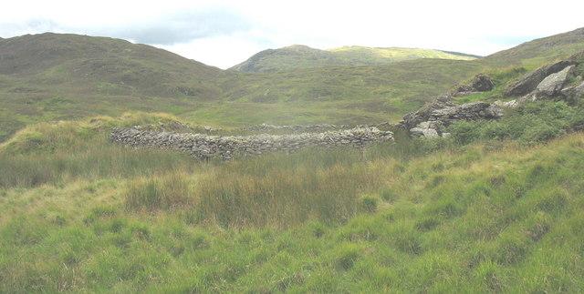 Sheepfold above Cae Llwyd