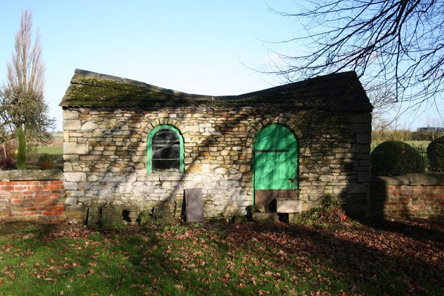 Churchyard shelter