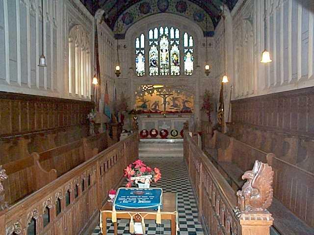 Carisbrooke Castle Chapel