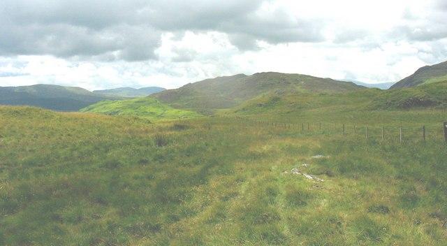 The summit plateau of Bryn Mawr