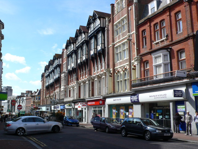 Shops And Apartments Bournemouth Town 169 Nigel Mykura Geograph Britain And Ireland