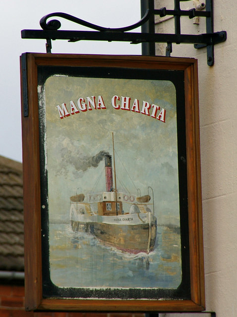The Sign of the Magna Charta