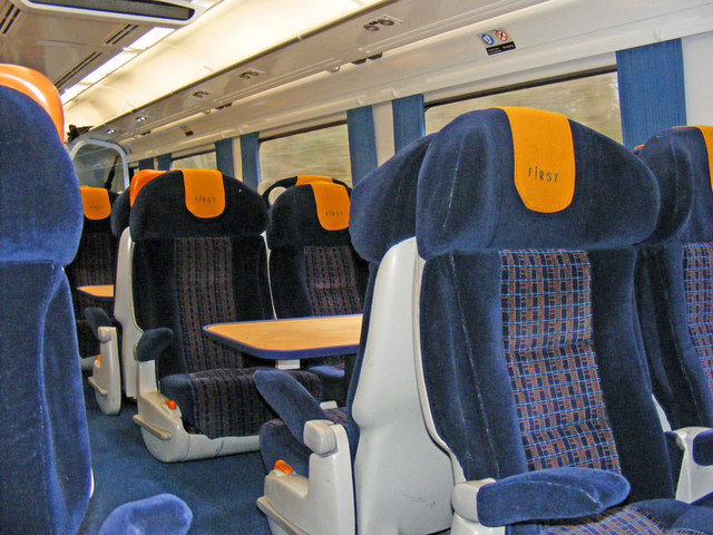 First Class Seating.