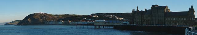 Aberystwyth Seafront Panorama