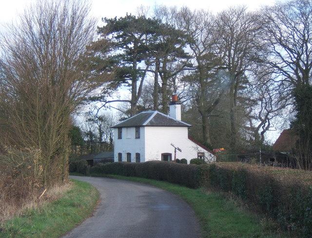 Cottage beside Cooper Road, near Gosbeck