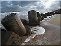 NJ9922 : Drums Links: Outer defences for a world war 2 pillbox : Week 12