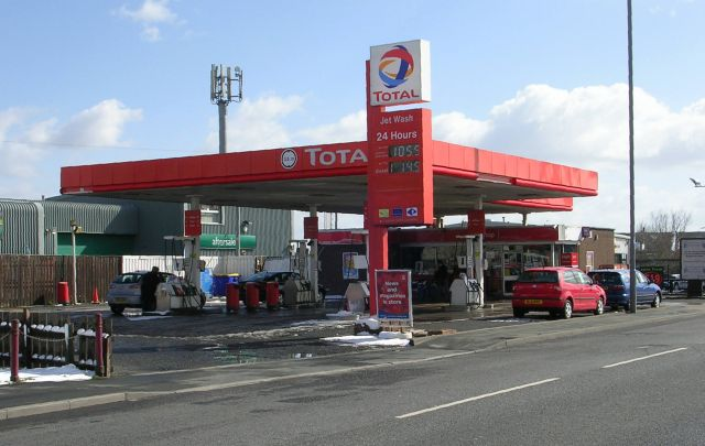 Total Filling Station - Killinghall Road