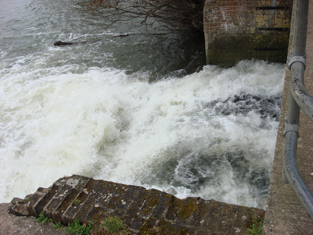 Waterfall, Sudbury Mill stream