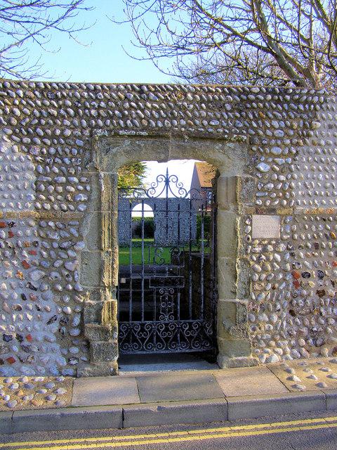 Tudor Gateway, Crouch Gardens, East Street, Seaford
