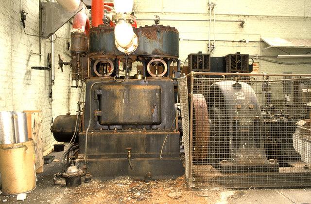 Steam engine generator set, Aylesbury