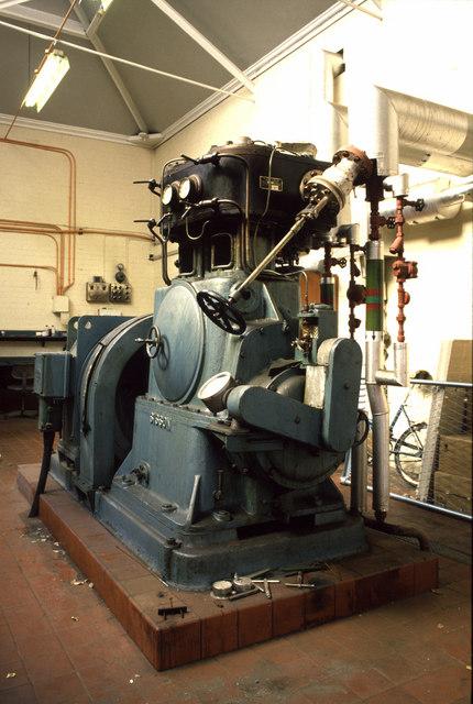 Steam alternator set, St Andrew's Hospital, Billing Road