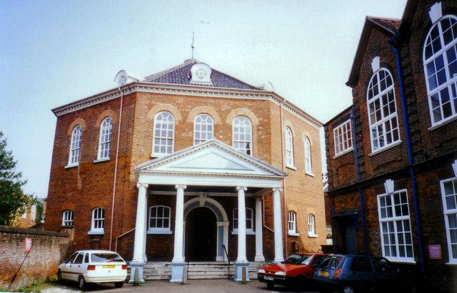 Octagon Unitarian Chapel, Colegate