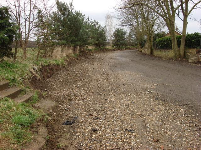 Unmetalled road, Weeting