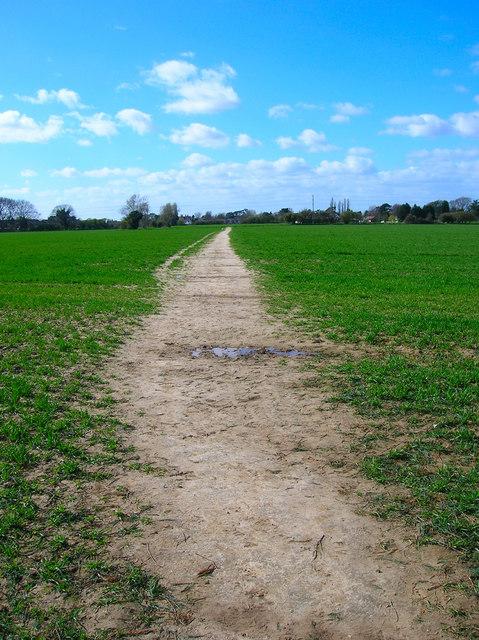 Footpath to Yapton