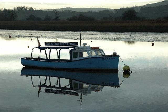 Topsham Ferry from Topsham Quay