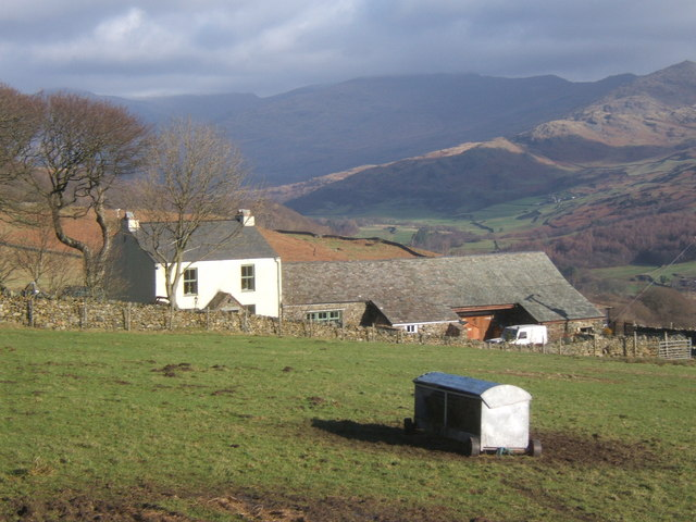 Brackenthwaite, overlooking the Duddon Valley above Ulpha