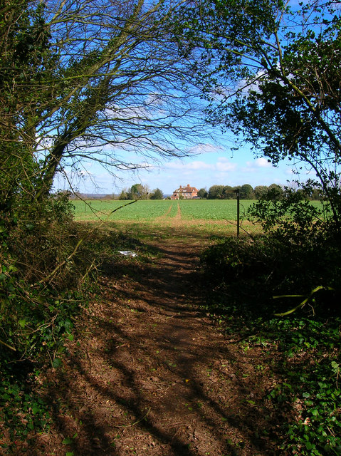 Footpath to Ford