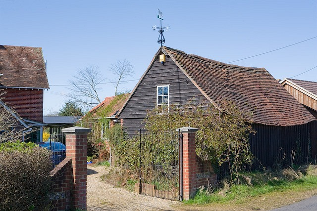 Shed at Grove House, Tutts Lane, West Wellow