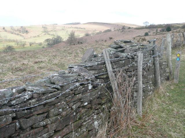Ascent of Cefn Moel