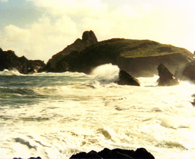 High Tide At Kynance Cove