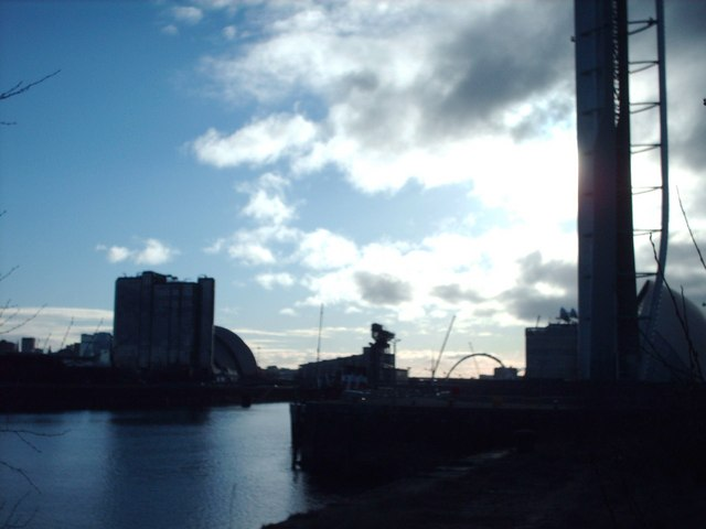 The River Clyde at Princes Dock