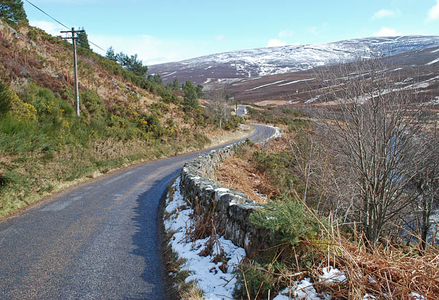 Road by the Water of Feugh in the Forest of Birse