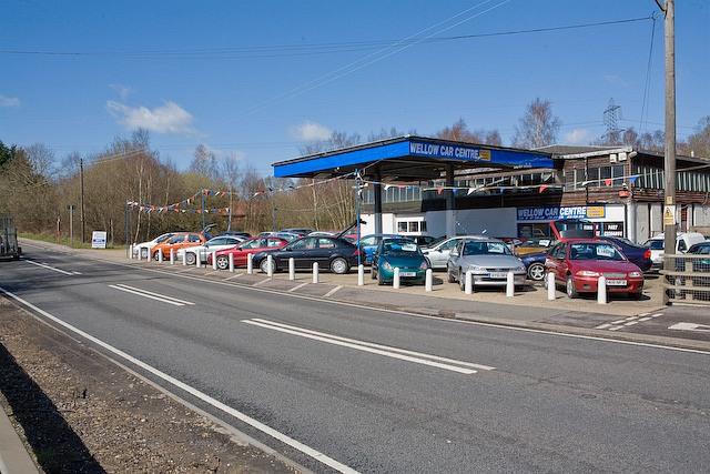 West Wellow Car Centre, on the A36