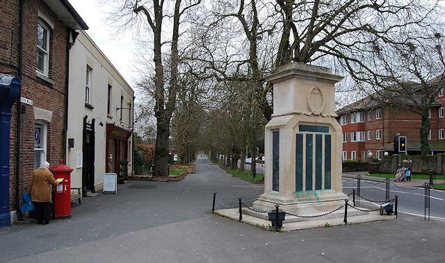 War Memorial - South Walks Road