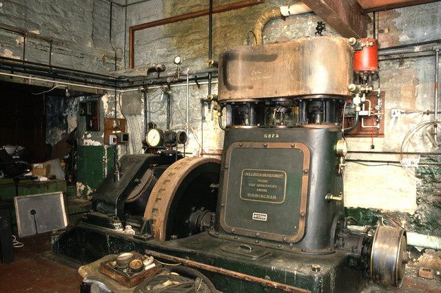 Steam engine Longfords Mills