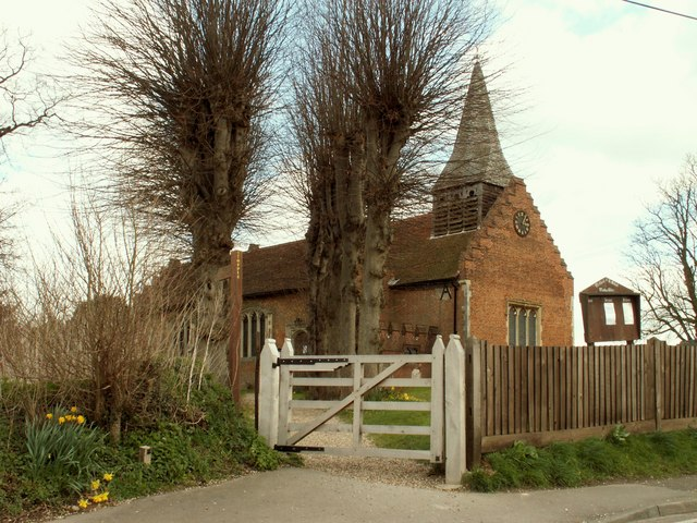 St. Michael; the parish church of Woodham Walter