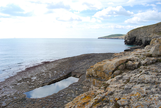 Pool at Dancing Ledge