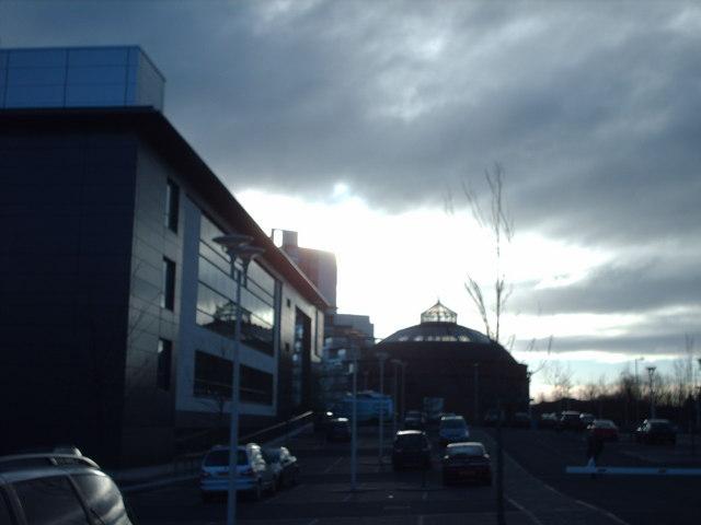 Scottish Television Studios and the South Rotunda