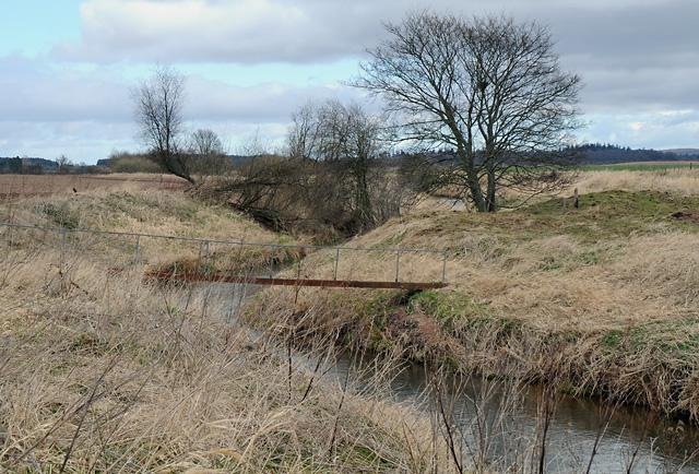 Footbridge over the Dean Water