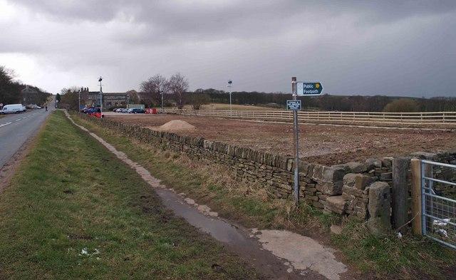 Footpath off Ringinglow Road