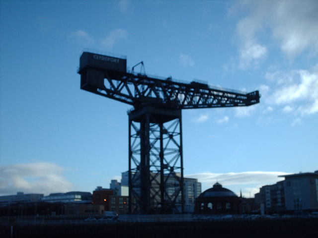 Finnieston Crane and North Rotunda