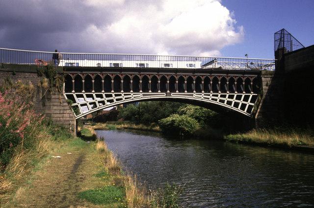 "The ""Engine Arm"" aqueduct"