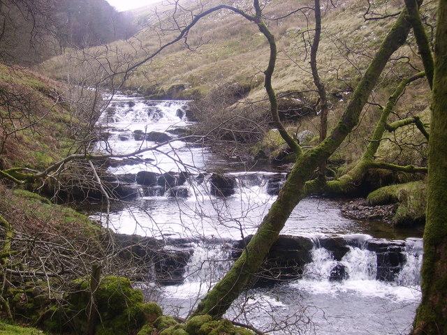 Waterfalls River Rawthey