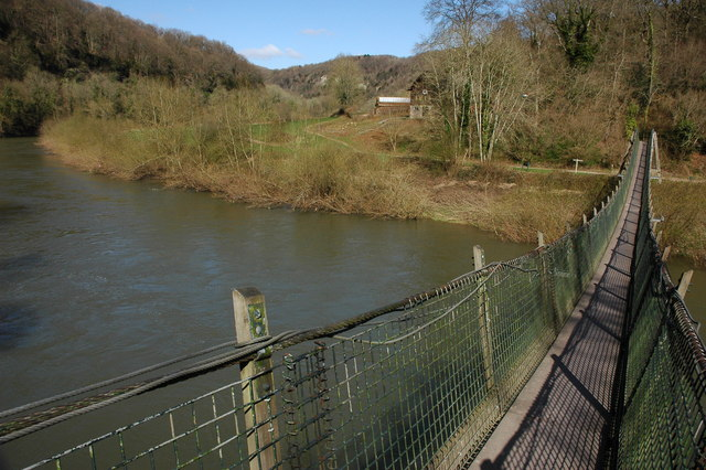 The River Wye from Biblins Bridge