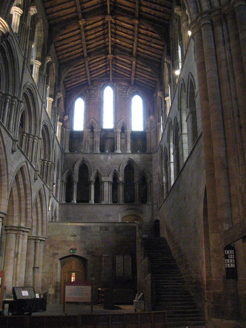 The South Transept, Hexham Abbey