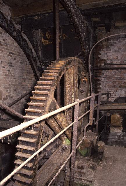 Water wheel, Park Mill, Brereton
