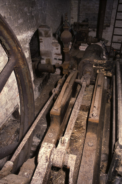 Steam engine, Park Mill, Brereton