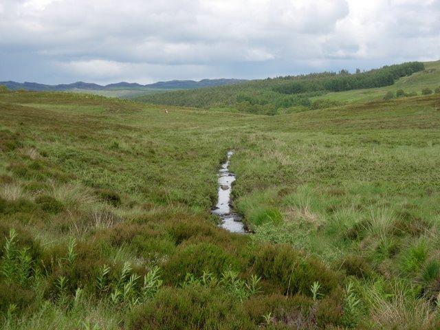 Stream from Loch Comhnard